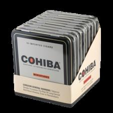 Cohiba Miniatures 10 Tins of 10